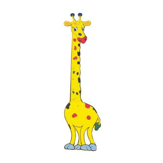 Zürafa Figürlü Boy Cetveli