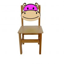 Hipopotam Ahşap Sandalye