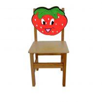Çilek Ahşap Sandalye