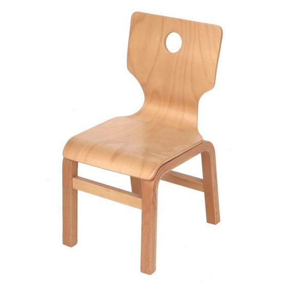 Hardy Doğal Ahşap Sandalye