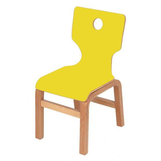 Hardy Renkli Laminant Ahşap Sandalye