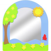 Dört Mevsim Lavabo Aynası – İlkbahar-Yaz-Sonbahar-Kış