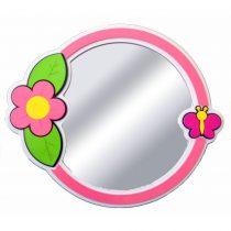 Kelebekli Çiçek Lavabo Aynası