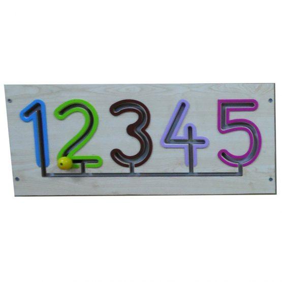 Sayılar Kanal Çalışması 1-5