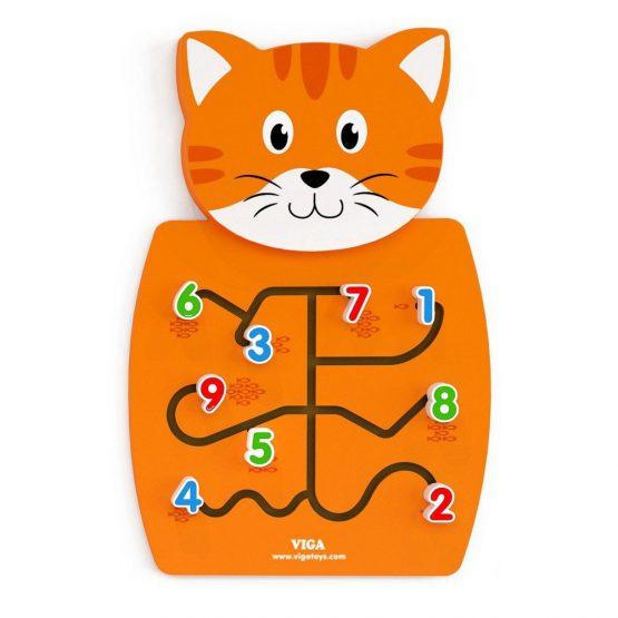 Kedi Figürlü Duvar Oyunu