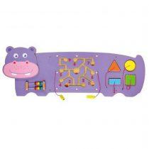 Hipopotam Figürlü Duvar Oyunu