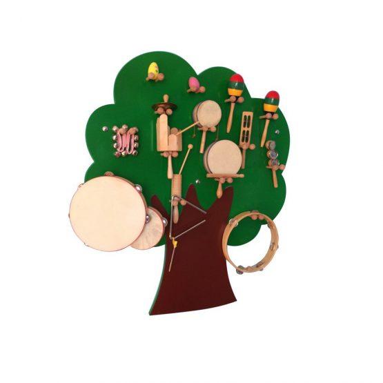 Ağaç Müzik Köşesi (Müzik Aletleri Hariç)