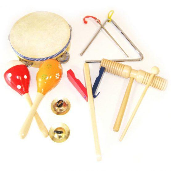 Müzik Aletleri Seti 8 Parça