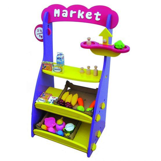Manav Market  Köşesi Renkli
