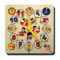 50085Saat kadranı Günümüz Puzzlelu 20 parça Ahşap Puzzle