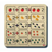 70030Matematik Serisi Toplama Puzzle 33x33cm