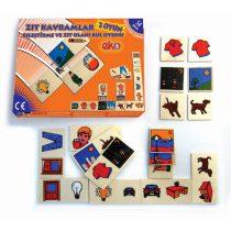 20020Zıt kavramlar İki Oyun Birarada Akıl Oyunu 54  parça