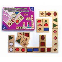 20050Geometrik Şekil Eşleştirme Akıl Oyunu 36 parça