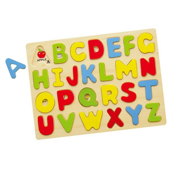 Harf Tablası Puzzle – Büyük Harfler