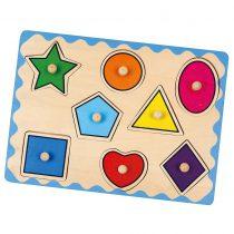 Geometrik Şekiller Puzzle