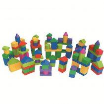 120 Parça Kutulu Ahşap Bloklar