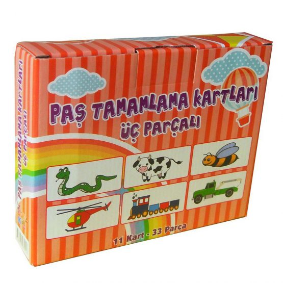 PAŞ TAMAMLAMA KARTLARI-3'LÜ