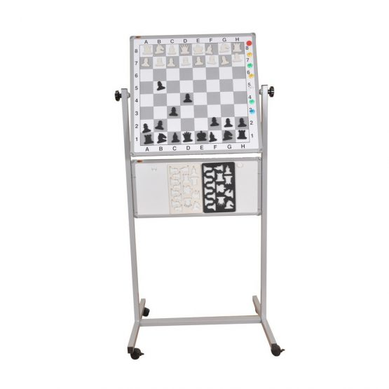 Tekerli Satranç Takımı (Metal)