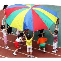 Renkli Paraşüt Grup Oyunu
