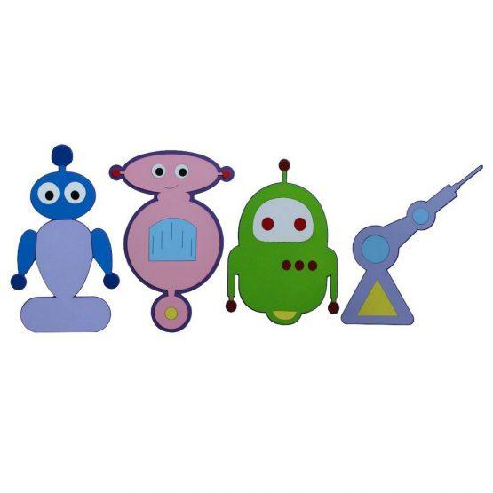 Robotik Kodlama Sınıf Figürleri