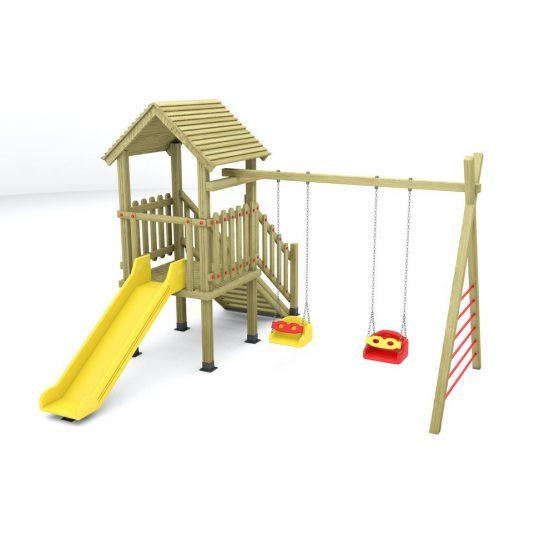 Kuleli 2 Salıncaklı Oyun Parkı