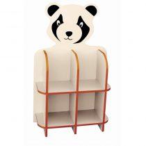 Panda Kitaplık Figürü Tek Parça