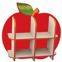 Elma Kitaplık Figürü Tek Parça